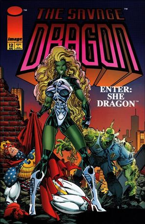 Savage Dragon (1993) 12-A