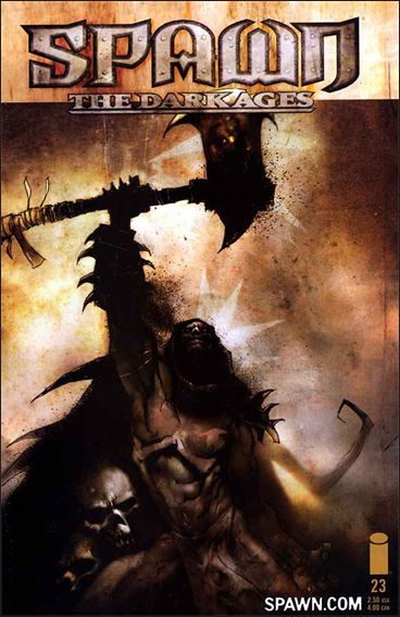 Spawn: The Dark Ages 23-A by Image
