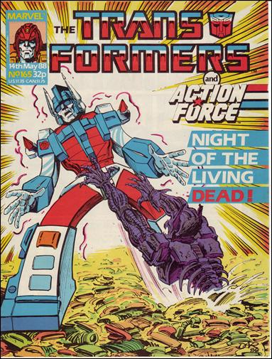 Transformers (UK) 165-A by Marvel UK