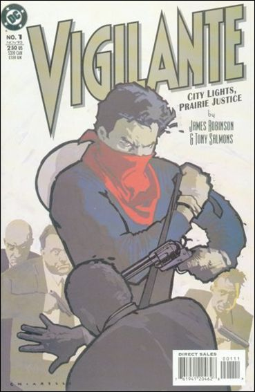 Vigilante: City Lights, Prairie Justice 1-A by DC