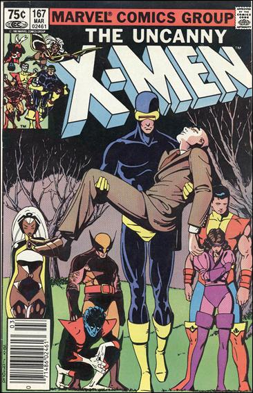 Uncanny X-Men (1981) 167-B by Marvel