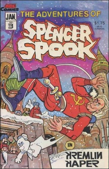 Adventures of Spencer Spook 3-A by Animated Comics Enterprises (ACE Comics)