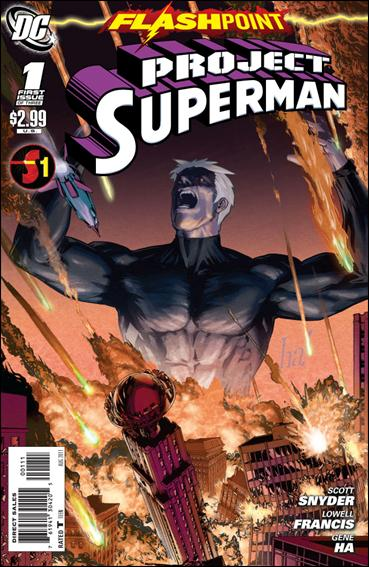 Flashpoint: Project Superman 1-A by DC