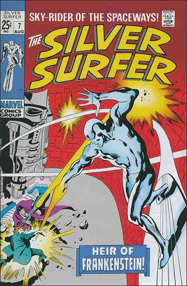 Silver Surfer (1968) 7-A by Marvel