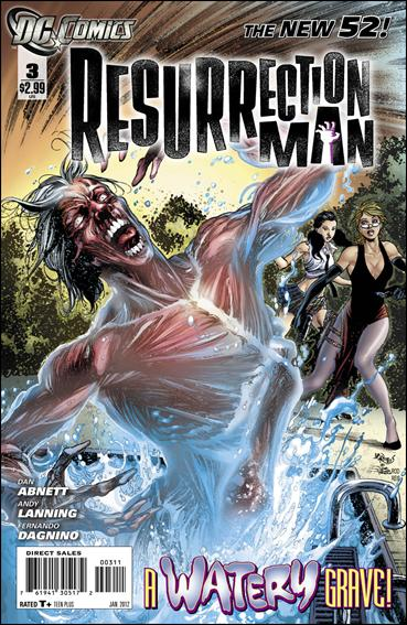 Resurrection Man (2011) 3-A by DC