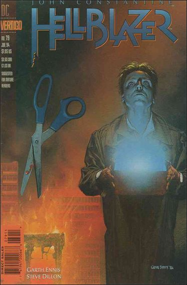Hellblazer 79-A by Vertigo