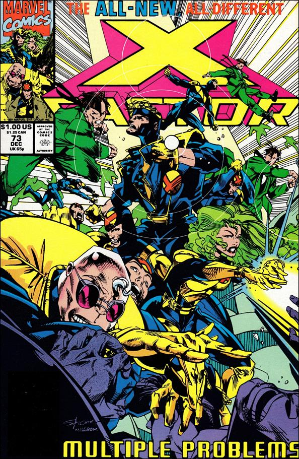 X-Factor (1986) 73-A by Marvel