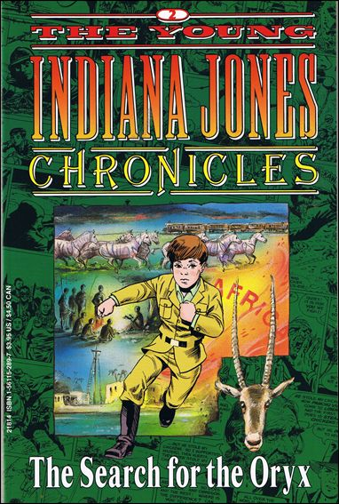 Young Indiana Jones Chronicles 2-A by Disney's Hollywood Comics