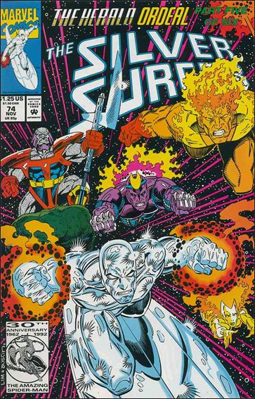 Silver Surfer (1987) 74-A by Marvel