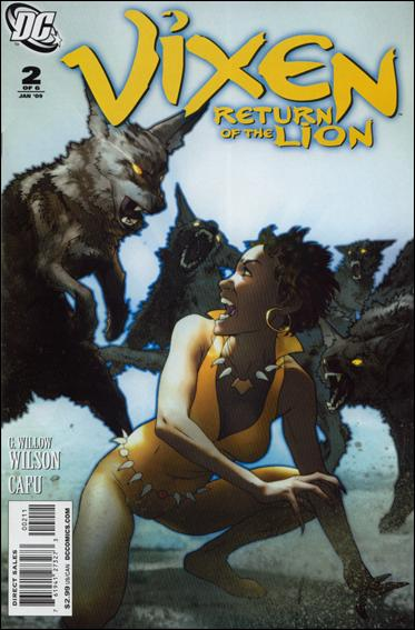 Vixen: Return of the Lion 2-A by DC