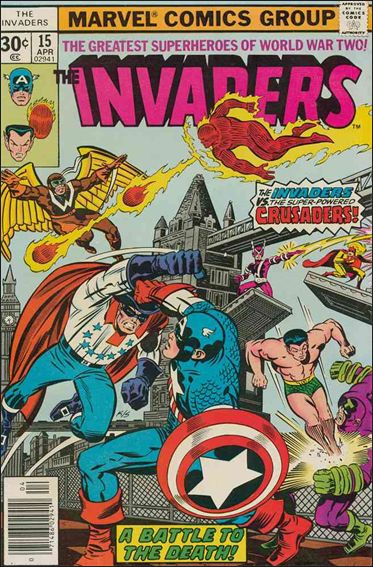 Invaders (1975) 15-A by Marvel