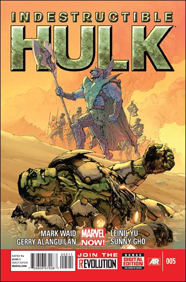 Indestructible Hulk 5-A by Marvel
