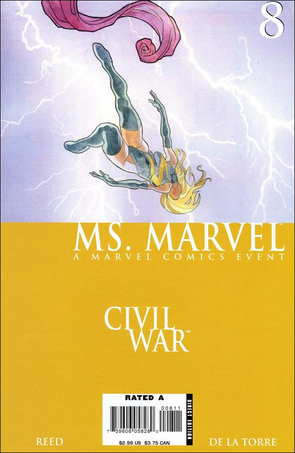 Ms. Marvel (2006) 8-A by Marvel