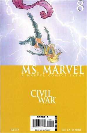 Ms. Marvel (2006) 8-A