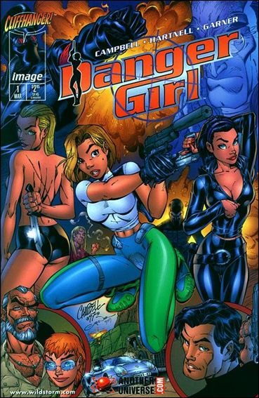 Danger Girl 1-D by Cliffhanger