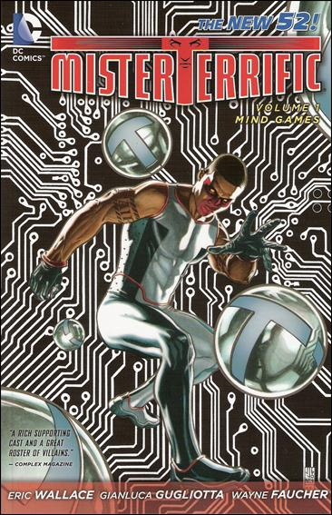 Mister Terrific 1-A by DC