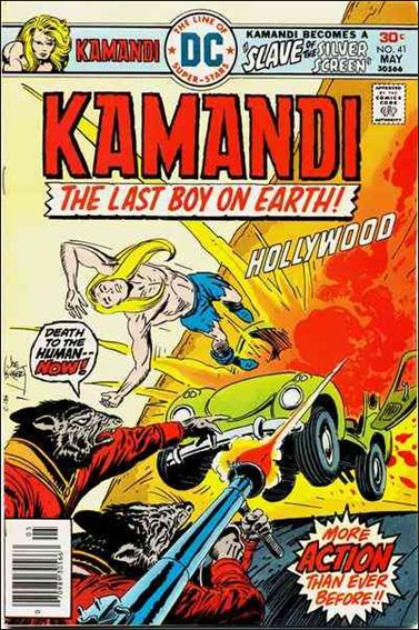 Kamandi, the Last Boy on Earth 41-A by DC