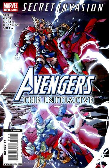 Avengers: The Initiative 18-A by Marvel