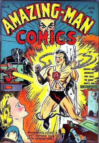 Amazing Man Comics 15-A by Centaur Publications Inc.