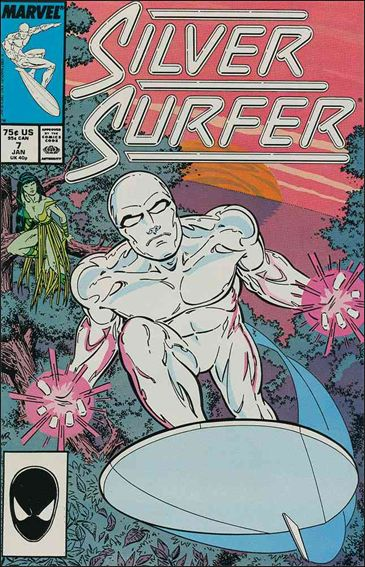 Silver Surfer (1987) 7-A by Marvel