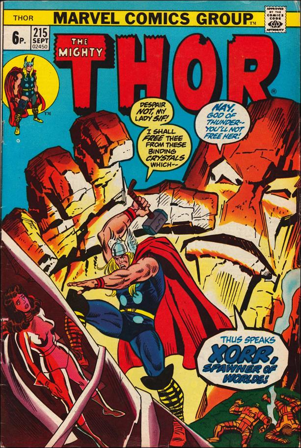 Thor (1966) 215-B by Marvel
