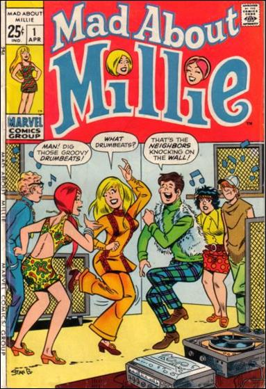 Mad About Millie 1-A by Marvel