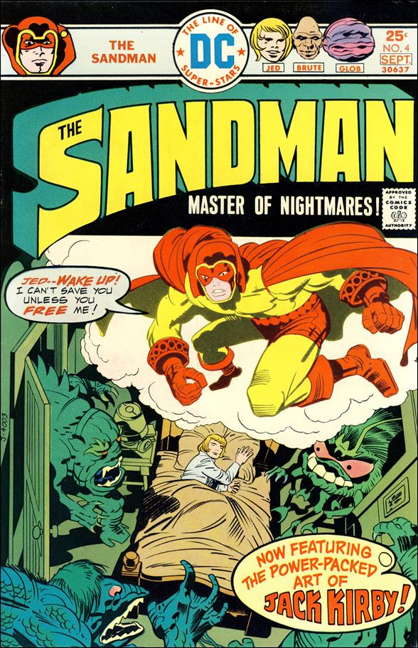 Sandman (1974) 4-A by DC