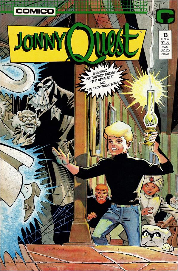 Jonny Quest (1986) 13-A by Comico