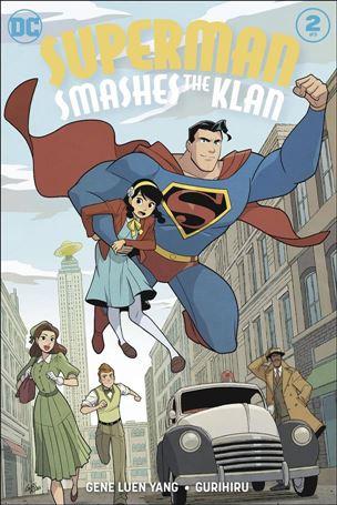 Superman Smashes the Klan 2-A