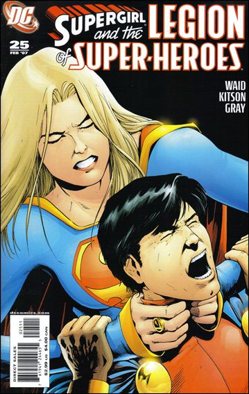 Supergirl and the Legion of Super-Heroes 25-A by DC