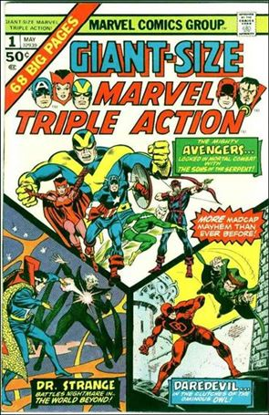 Giant-Size Marvel Triple Action 1-A