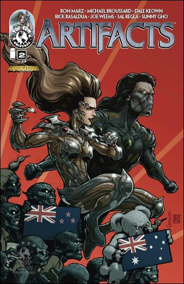Artifacts (2010) 2-F by Top Cow