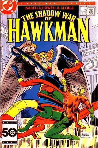 Shadow War of Hawkman 3-A by DC