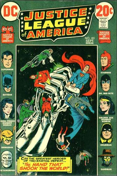 Justice League of America (1960) 101-A by DC