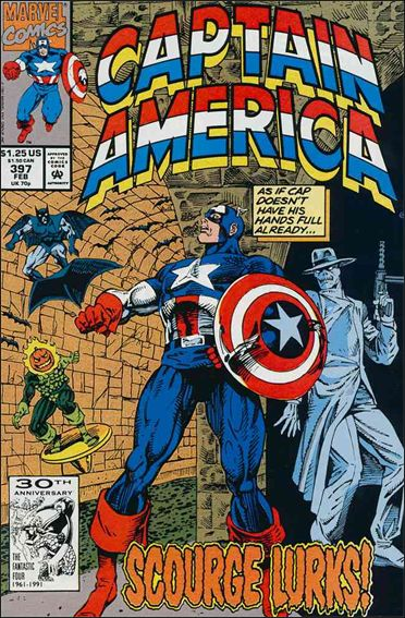 Captain America (1968) 397-A by Marvel