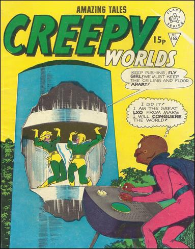 Creepy Worlds (UK) 165-A by Alan Class