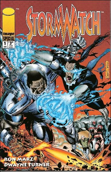 Stormwatch Special 1-A by Image