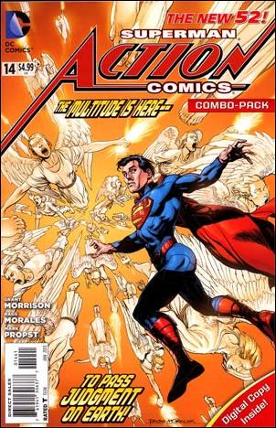 Action Comics (2011) 14-B by DC