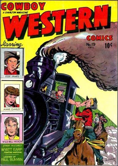 Cowboy Western 19-A by Charlton