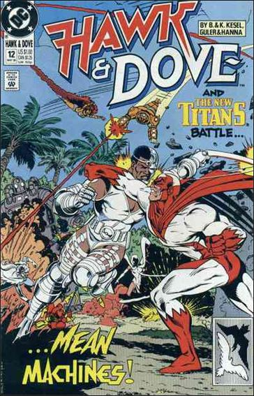 Hawk and Dove (1989) 12-A by DC