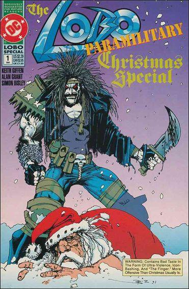 Lobo Paramilitary Christmas Special 1-A by DC