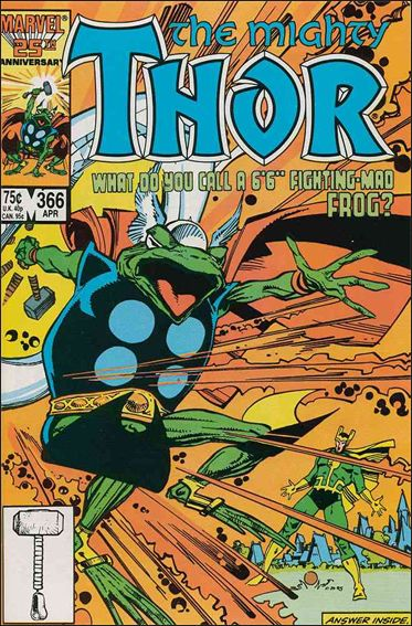 Thor (1966) 366-A by Marvel