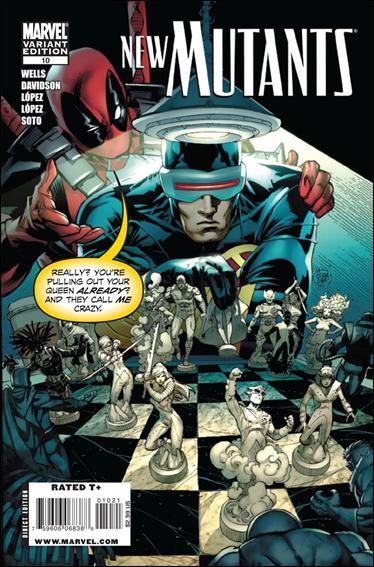 New Mutants (2009) 10-B by Marvel