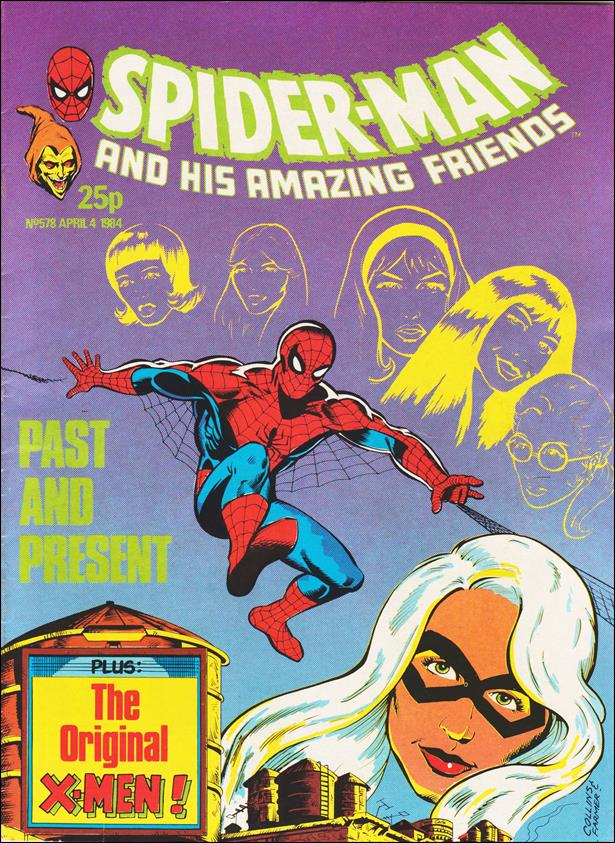 Spider-Man: Comics Weekly (UK) 578-A by Marvel UK