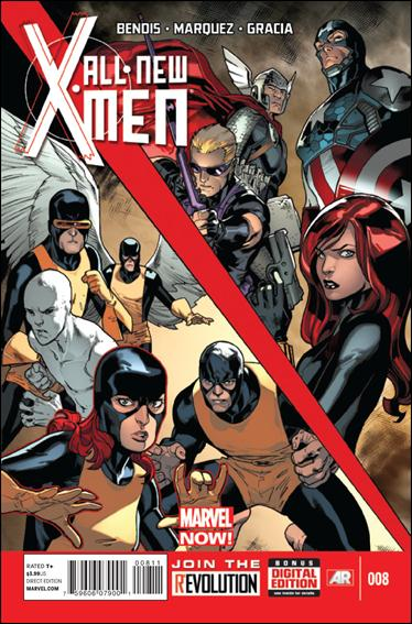 All-New X-Men 8-A by Marvel