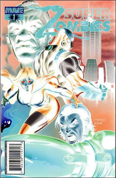 Super Zombies 1-D by Dynamite Entertainment