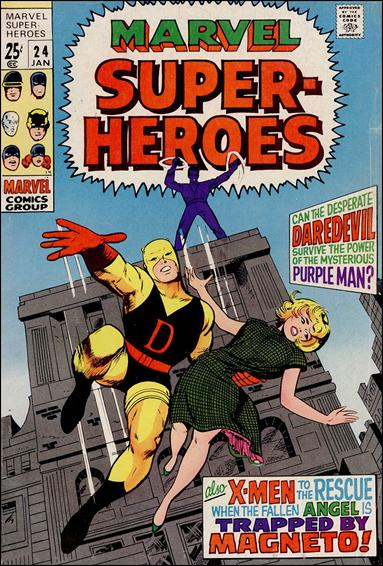 Marvel Super-Heroes (1967) 24-A by Marvel
