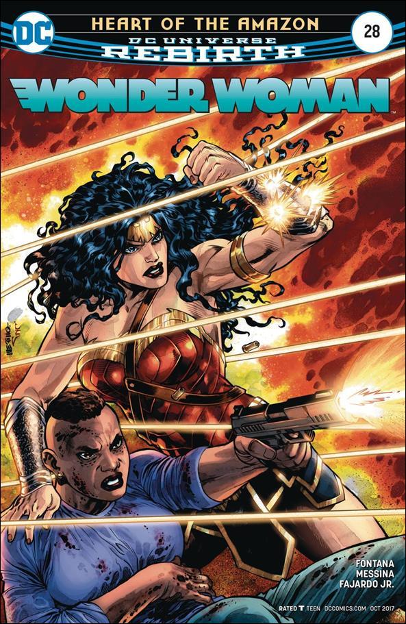 Wonder Woman (2016)  28-A by DC