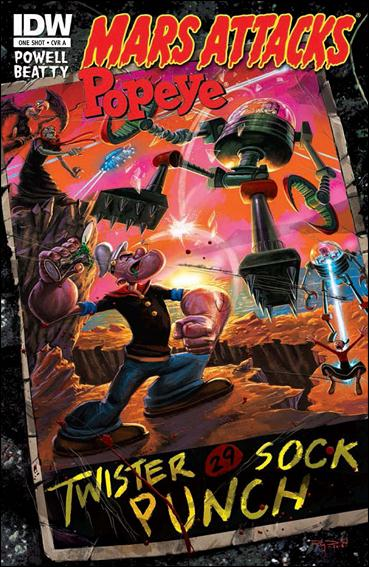 Mars Attacks Popeye One Shot-A by IDW