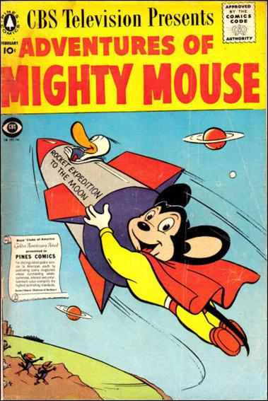 Adventures of Mighty Mouse (1956) nn 4-A by Pines